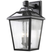 Z-Lite 539B-BK Bayland 3 Light 20 inch Black Outdoor Wall Sconce photo thumbnail