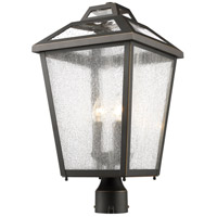 Z-Lite 539PHBR-ORB Bayland 3 Light 21 inch Oil Rubbed Bronze Outdoor Post Mount Fixture