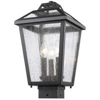 Z-Lite Bayland 3 Light Post Mount Light in Black 539PHMS-BK