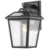 Z-Lite 539S-BK Bayland 1 Light 13 inch Black Outdoor Wall Sconce