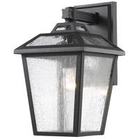 Z-Lite Bayland 1 Light Outdoor Wall Light in Black 539S-BK