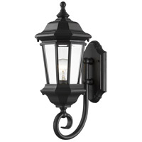 Melbourne 1 Light 20 inch Black Outdoor Wall Sconce