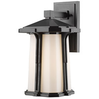 Harbor Lane 1 Light 16 inch Black Outdoor Wall Light