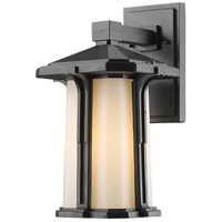 Z-Lite 542M-BK Harbor Lane 1 Light 14 inch Black Outdoor Wall Sconce