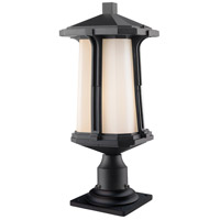 Harbor Lane 1 Light 21 inch Black Outdoor Pier Mount