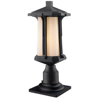 Harbor Lane 1 Light 17 inch Black Outdoor Pier Mount