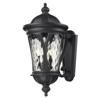 Z-Lite Doma 5 Light Outdoor Wall Light in Black 543B-BK