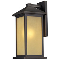 Z-Lite Vienna 1 Light Outdoor Wall Light in Oil Rubbed Bronze 548B-ORB