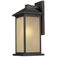 Z-Lite Vienna 1 Light Outdoor Wall Light in Oil Rubbed Bronze 548M-ORB