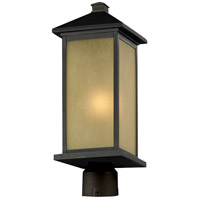 Z-Lite 548PHB-ORB-R Vienna 1 Light 24 inch Oil Rubbed Bronze Post Mount Light