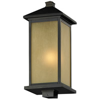 Z-Lite 548PHB-ORB Vienna 1 Light 22 inch Oil Rubbed Bronze Post Mount Light