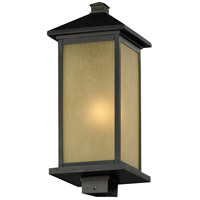 Z-Lite 548PHM-ORB Vienna 1 Light 20 inch Oil Rubbed Bronze Outdoor Post Mount Fixture