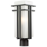 Abbey 1 Light 20 inch Outdoor Rubbed Bronze Post Mount Light