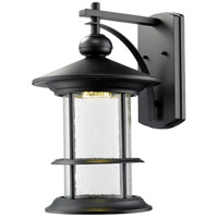 Z-Lite 552B-BK-LED Genesis LED 19 inch Black Outdoor Wall Sconce in 18