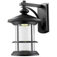 Z-Lite Genesis 18 Light Outdoor Wall Light in Black 552XL-BK-LED