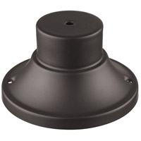 Signature 4 inch Deep Bronze Outdoor Pier Mount