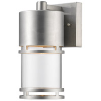 Z-Lite 553S-BA-LED Luminata LED 9 inch Brushed Aluminum Outdoor Wall Sconce