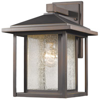 Z-Lite 554M-ORB Aspen 1 Light 13 inch Oil Rubbed Bronze Outdoor Wall Sconce