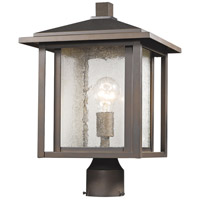 Z-Lite 554PHB-ORB Aspen 1 Light 16 inch Oil Rubbed Bronze Outdoor Post