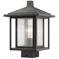 Z-Lite 554PHMS-ORB Aspen 1 Light 13 inch Oil Rubbed Bronze Outdoor Post Mount