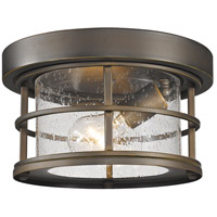 Z-Lite 555F-ORB Exterior Additions 1 Light 10 inch Oil Rubbed Bronze Outdoor Flush Mount