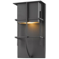 Stillwater LED 19 inch Black Outdoor Wall Sconce