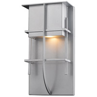 Z-Lite 558B-SL-LED Stillwater LED 19 inch Silver Outdoor Wall Sconce