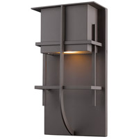 Z-Lite 558M-DBZ-LED Stillwater LED 15 inch Deep Bronze Outdoor Wall Sconce in Depp Bronze