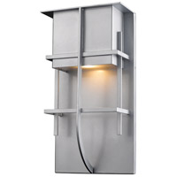 Stillwater LED 15 inch Silver Outdoor Wall Sconce