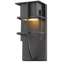 Stillwater LED 11 inch Black Outdoor Wall Sconce