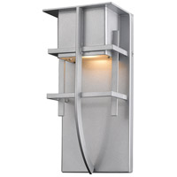 Z-Lite 558S-SL-LED Stillwater LED 11 inch Silver Outdoor Wall Sconce