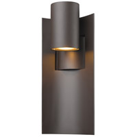 Amador LED 19 inch Deep Bronze Outdoor Wall Sconce in Depp Bronze