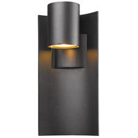 Amador LED 15 inch Black Outdoor Wall Sconce