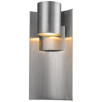 Amador LED 15 inch Silver Outdoor Wall Sconce
