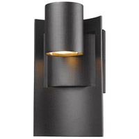 Amador LED 10 inch Black Outdoor Wall Sconce