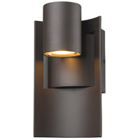 Z-Lite 559S-DBZ-LED Amador LED 10 inch Deep Bronze Outdoor Wall Sconce in Depp Bronze