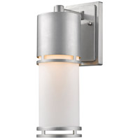 Z-Lite 560M-BA-LED Luminata LED 14 inch Brushed Aluminum Outdoor Wall Sconce