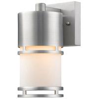 Z-Lite 560S-BA-LED Luminata LED 9 inch Brushed Aluminum Outdoor Wall Sconce