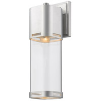 Z-Lite 562B-BA-LED Lestat LED 18 inch Brushed Aluminum Outdoor Wall Sconce