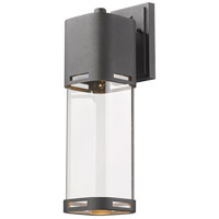 Z-Lite 562B-BK-LED Lestat LED 18 inch Black Outdoor Wall Sconce