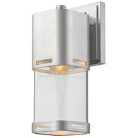 Z-Lite 562M-BA-LED Lestat LED 14 inch Brushed Aluminum Outdoor Wall Sconce