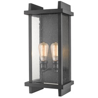 Z-Lite 565B-BK Fallow 2 Light 22 inch Black Outdoor Wall Sconce