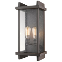 Z-Lite 565B-DBZ Fallow 2 Light 22 inch Deep Bronze Outdoor Wall Sconce