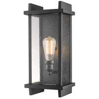 Z-Lite 565M-BK Fallow 1 Light 17 inch Black Outdoor Wall Sconce