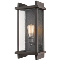 Z-Lite 565M-DBZ Fallow 1 Light 17 inch Deep Bronze Outdoor Wall Sconce
