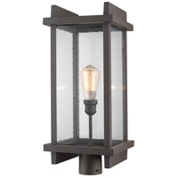 Z-Lite 565PHBR-DBZ Fallow 1 Light 23 inch Deep Bronze Outdoor Post Mount Fixture