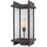 Z-Lite 565PHBS-DBZ Fallow 1 Light 22 inch Deep Bronze Outdoor Post Mount Fixture