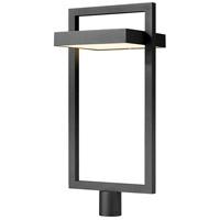 Z-Lite 566PHXLR-BK-LED Luttrel LED 31 inch Black Outdoor Post Mount Fixture