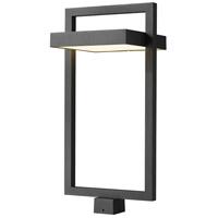 Z-Lite 566PHXLS-BK-LED Luttrel LED 29 inch Black Outdoor Post Mount Fixture