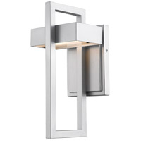 Z-Lite 566S-SL-LED Luttrel LED 12 inch Silver Outdoor Wall Sconce